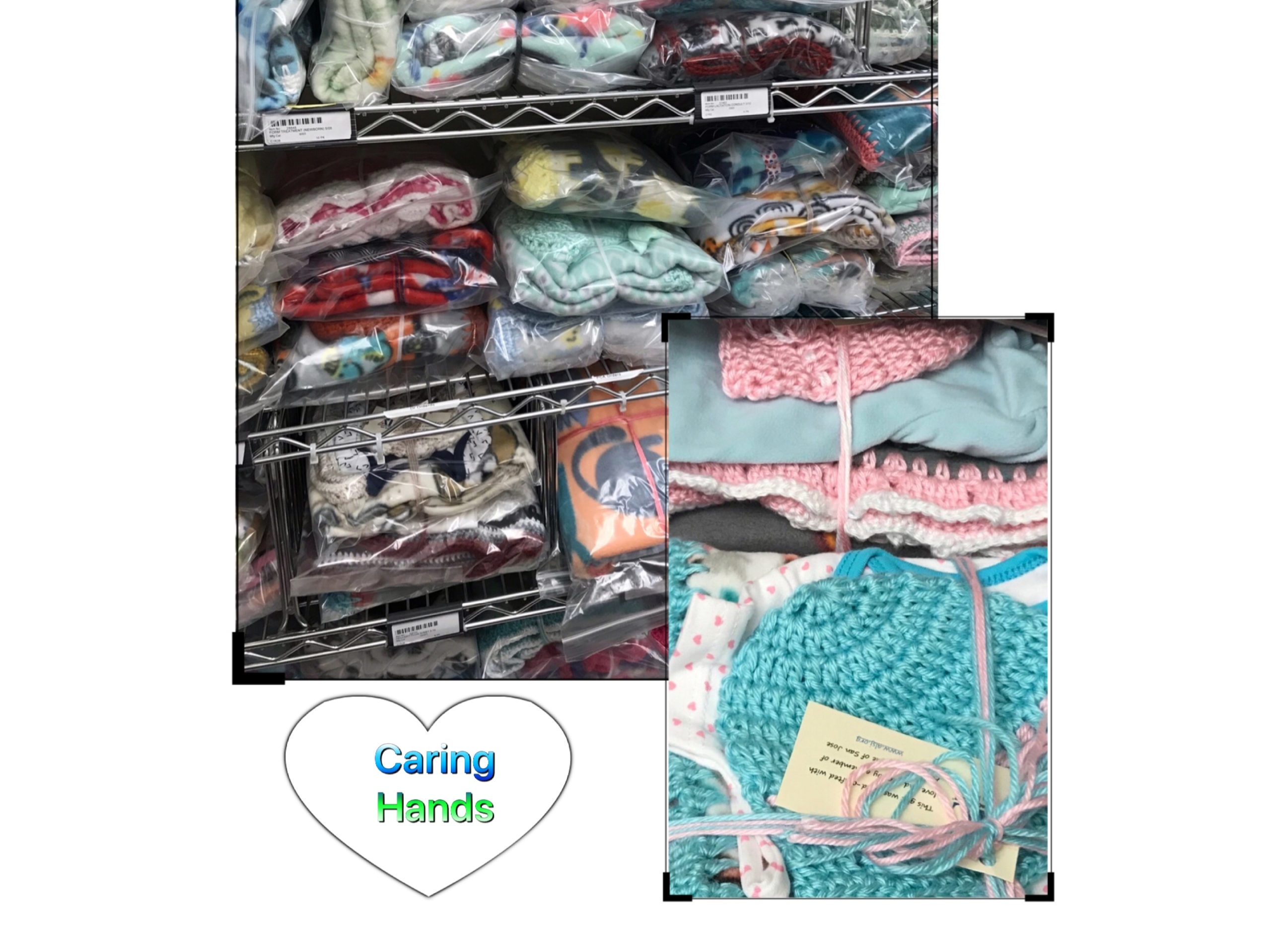 Caring Hands Layettes at SCVMD