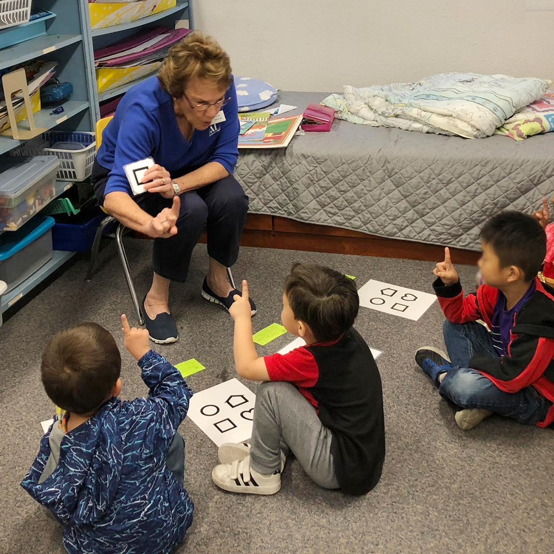 Working with pre-school children