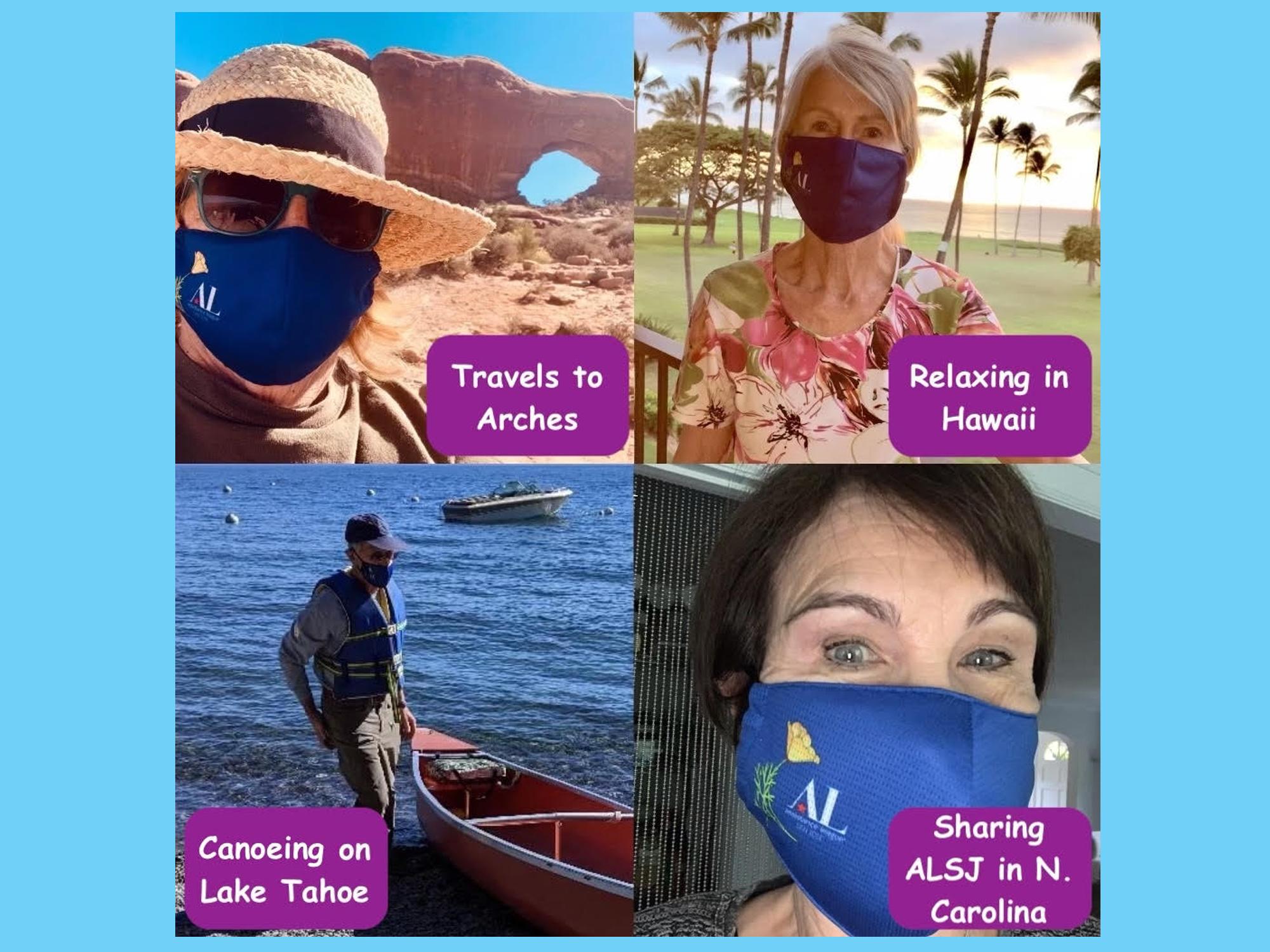 AL of San Jose Face Masks