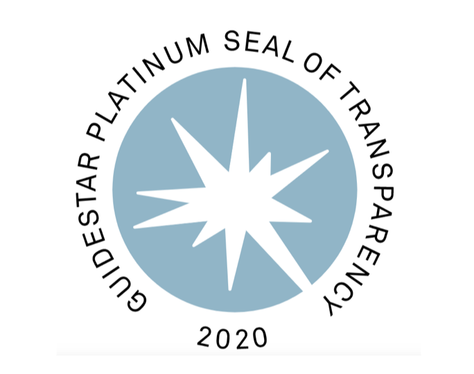 GuideStar Platinum Seal of Transparency logo