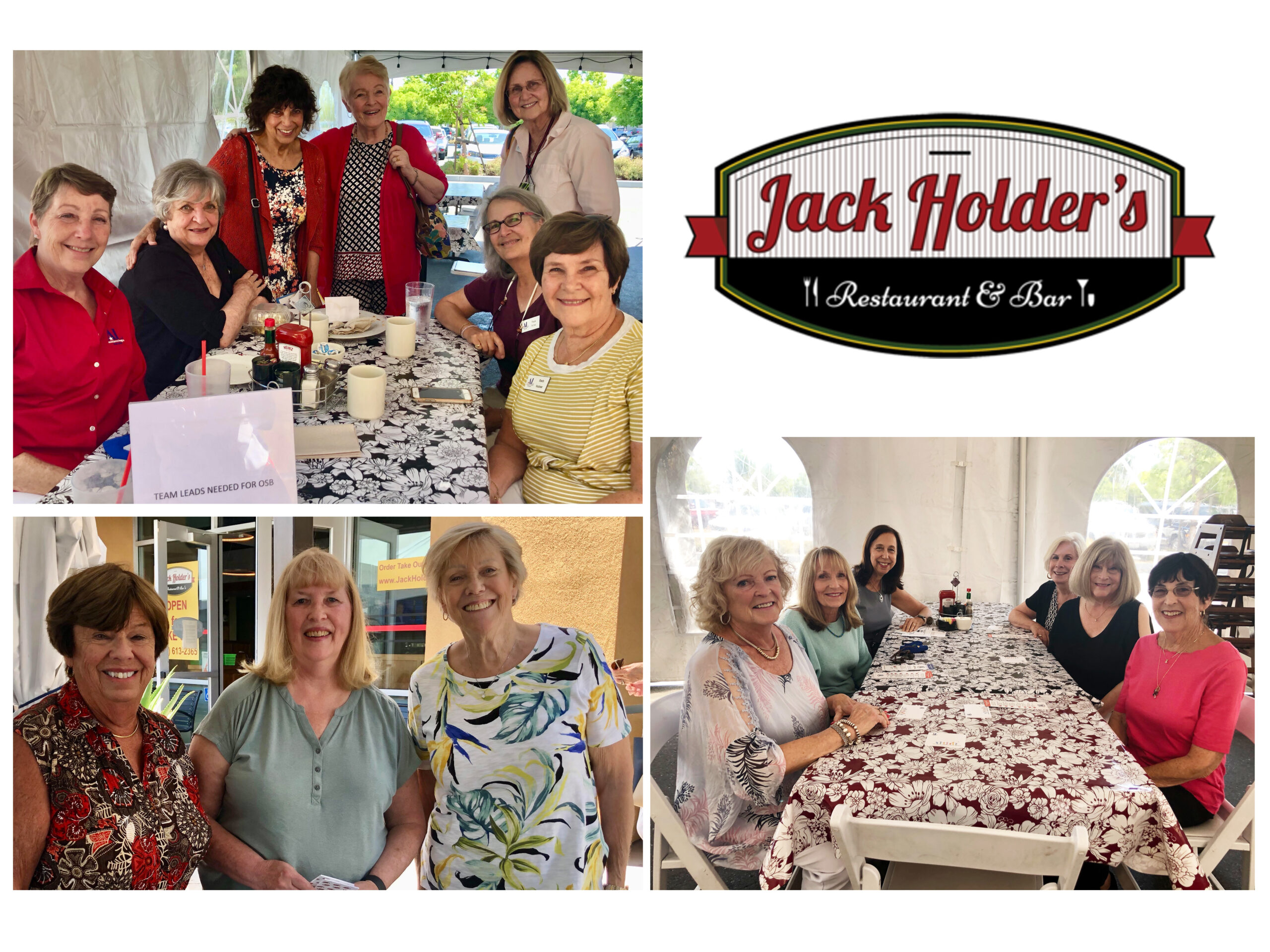 Enjoying the FUNdraiser at Jack Holder's Restaurant & Bar