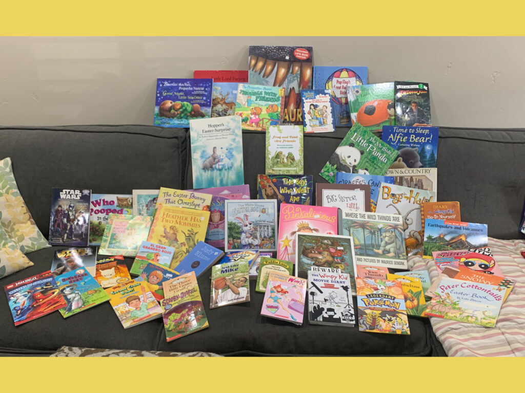 Books Purchased with Readers Are Leaders Teacher's Grant