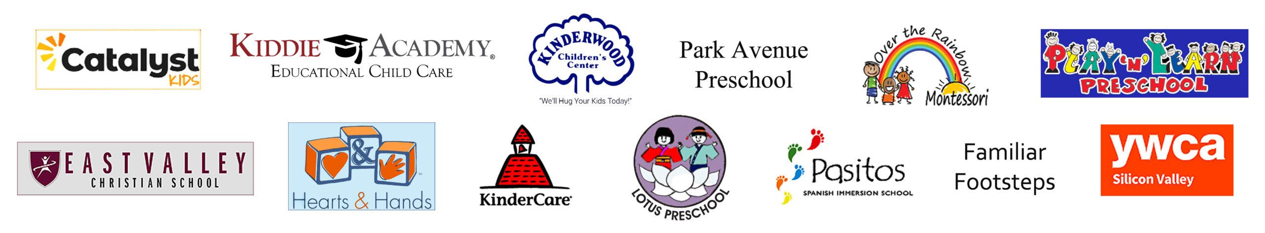 Pre-school logos