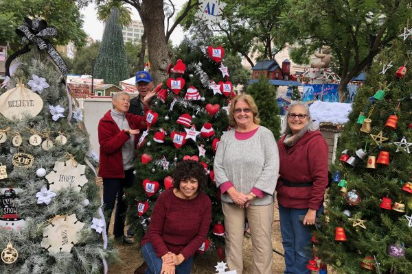 Christmas in the Park Assistance League Tree