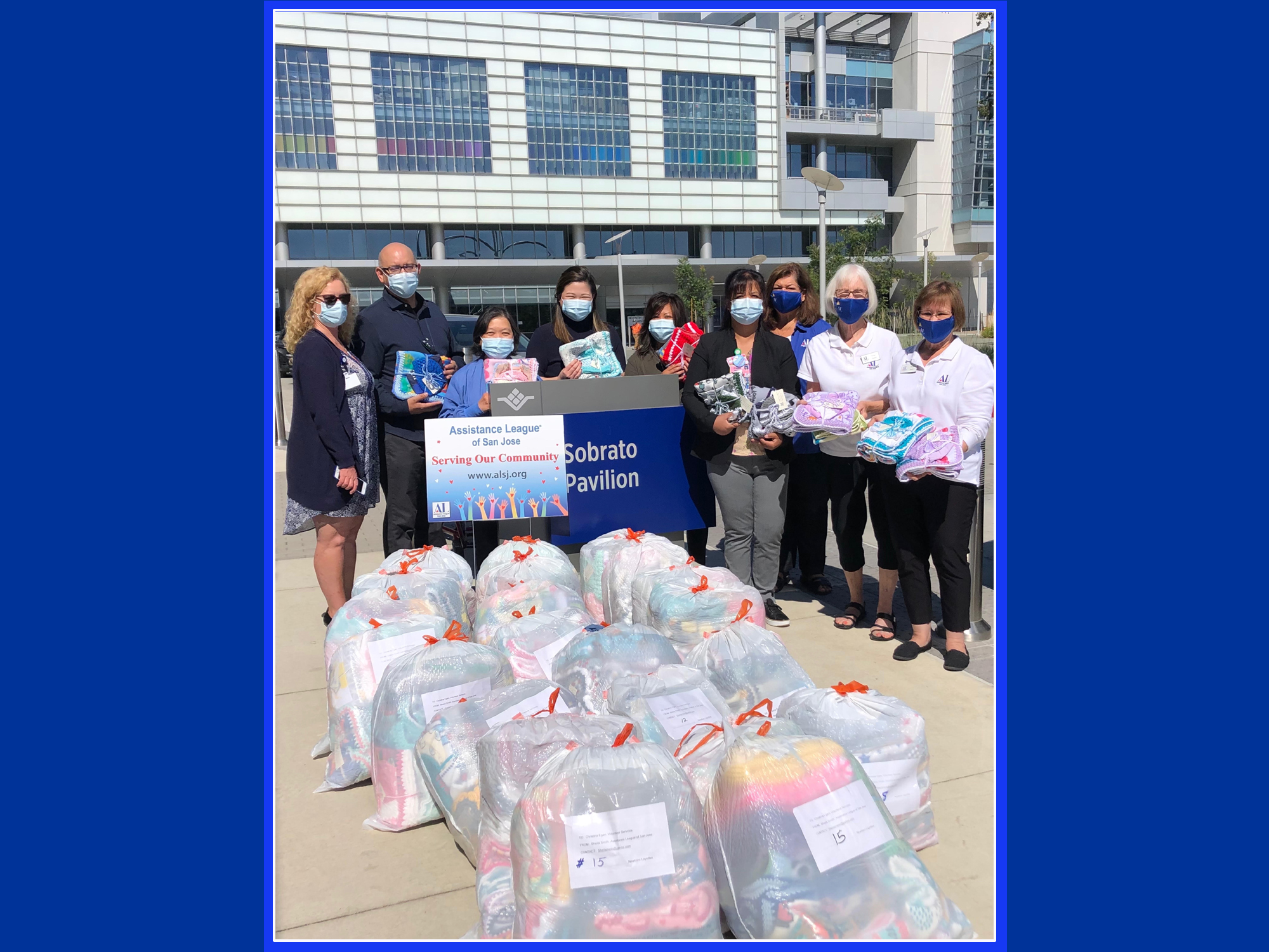 Caring Hands Members Deliver Layettes to SCVMC