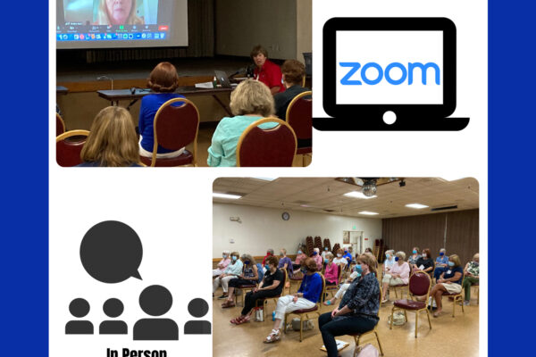 August 2021 Regular Meeting by Zoom and In Person