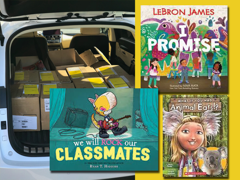 October Book Delivery - We will ROCK our Classmates, I Promise, What if you had Animal Ears?