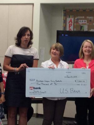 US Bank Donation 6.26.19