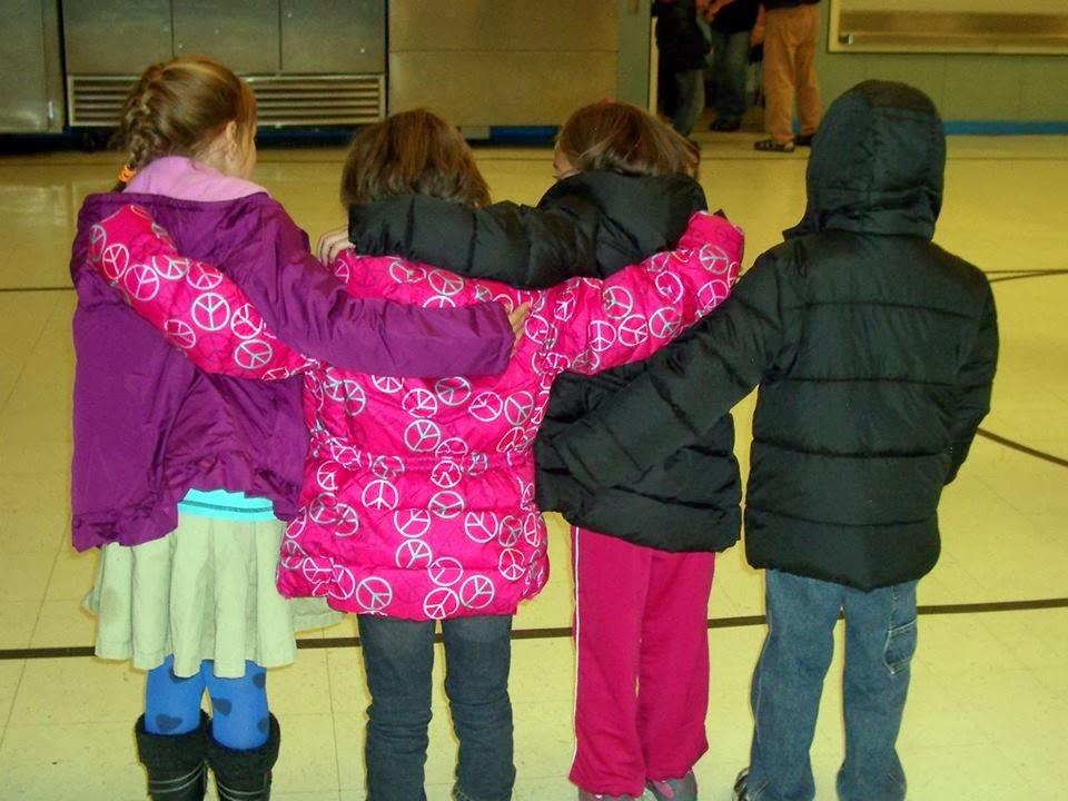 Kids in Coats