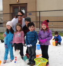 Menifee Union School District teacher grant provides students the opportunity to experience snow for the first time.