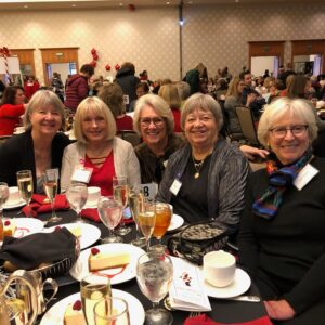 Luncheon Members at table