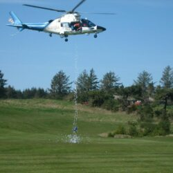 GBD Helicopter dropping balls