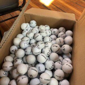 Golf Balls in box