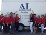 Santa Ana's truck for thrift shop