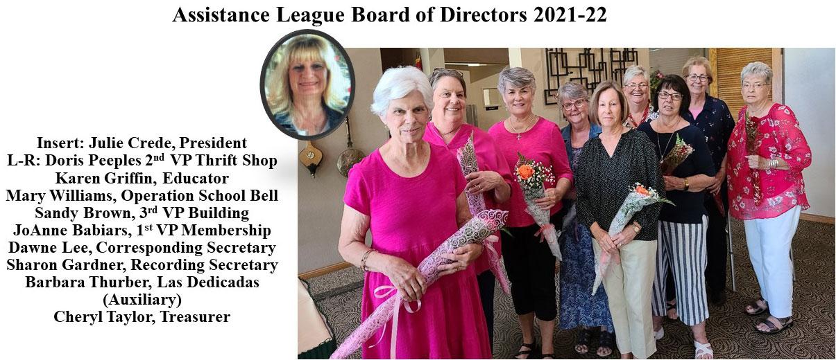 Assistance League Yuma Board Members
